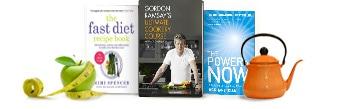ξενόγλωσσα βιβλία αυτοβελτίωσης, διατροφής και ελεύθερου χρόνου