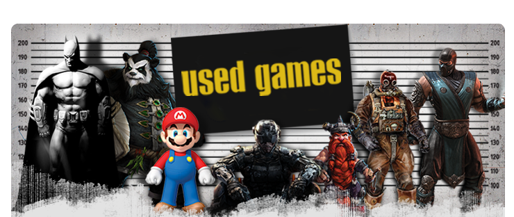 used games wanted