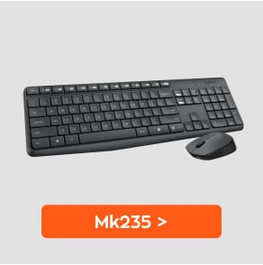 MK235 combo πληκτρολόγιο ποντίκι