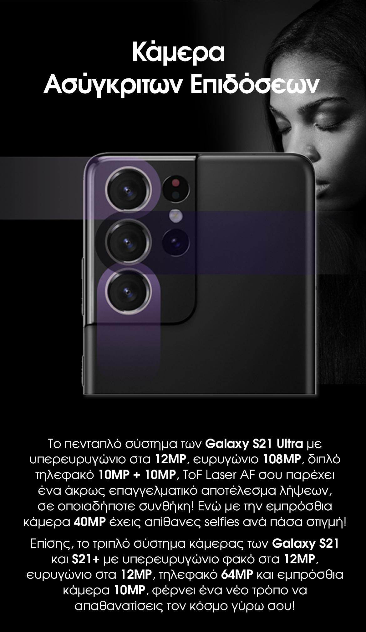 Samsung Galaxy S21 | Κάμερα ασύγκριτων επιδόσεων