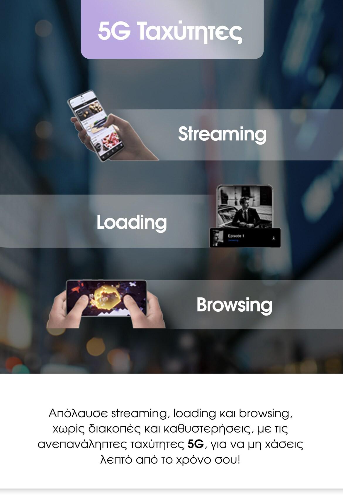 Samsung Galaxy S21 | 5G Ταχύτητες