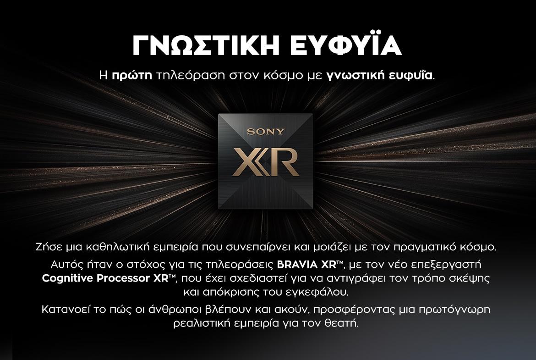 SONY Bravia XR OLED - Γνωστική Εφυΐα