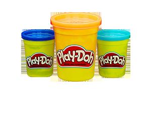 Βαζάκια Πλαστελίνης Play-Doh