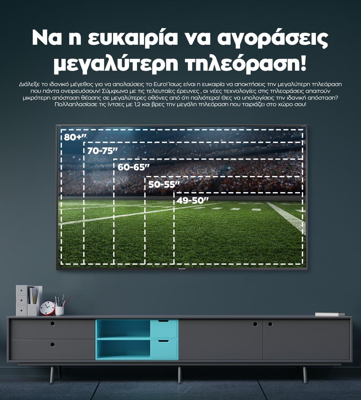 Να η ευκαιρία να αγοράσεις μεγαλύτερη τηλεόραση