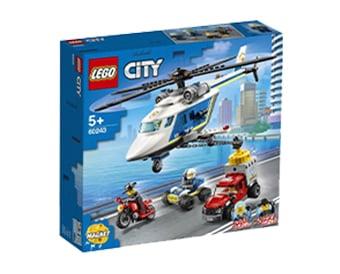LEGO® City Καταδίωξη Με Αστυνομικό Ελικόπτερο