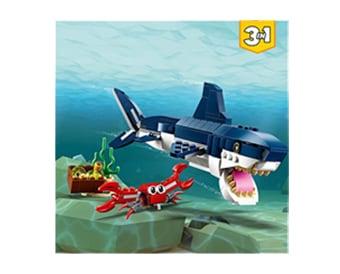 LEGO® Creator Πλάσματα Της Βαθιάς Θάλασσας