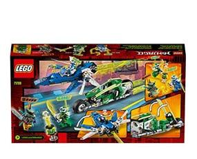 LEGO® Ninjago Ταχύτατα Αγωνιστικά Του Τζέι Και Του Λόιντ
