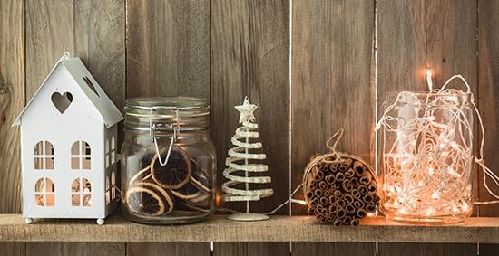 Χριστουγεννιάτικα δώρα διακόσμηση σπιτιού